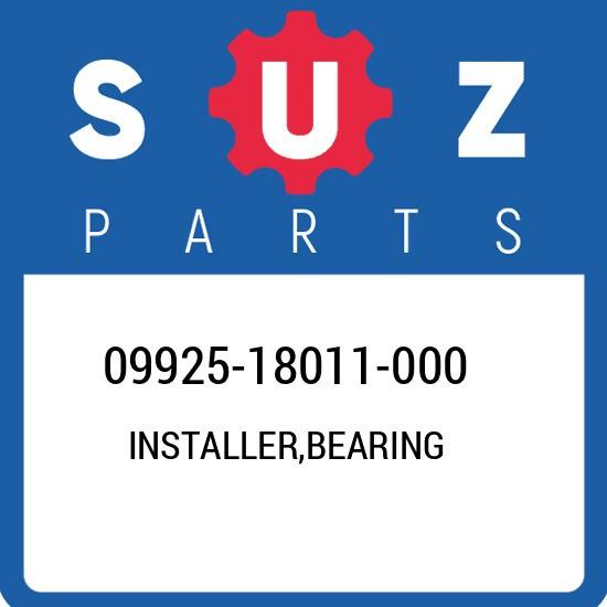 09925-18011-000 Suzuki Installer,bearing 0992518011000, New Genuine OEM Part