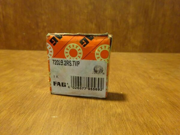 FAG 7202B2RSTVP angular contact ball bearing