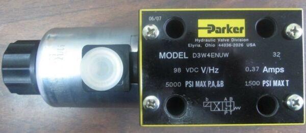 D3W4ENUW, Parker, Hydraulic Directional Control Valve