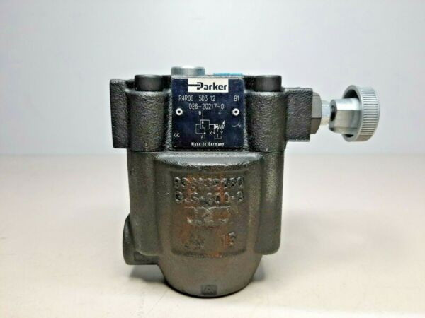 Parker R4R06 5D3 12 026-20217-0 Hydraulic Pressure reducing valve *NEW*