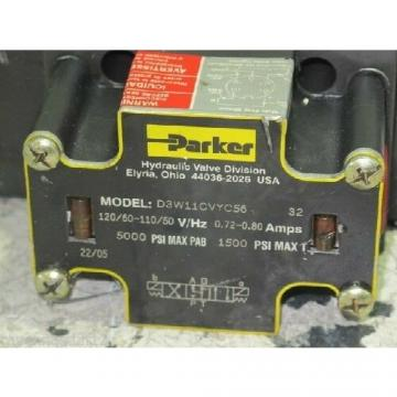 PARKER D3W11CVYC56 HYDRAULIC DIRECTIONAL CONTROL VALVE (NEW NO BOX)