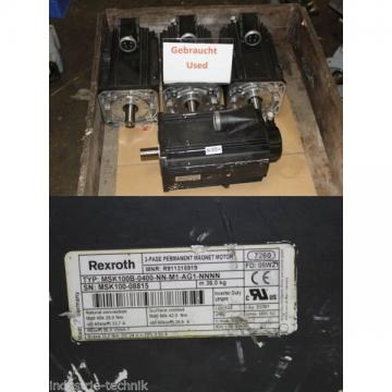 Rexroth Msk100b-0400-nn-m1-ag1-nnnn Servo Motor R911315919 Servo Motor