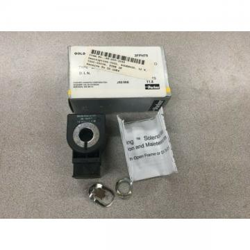 NEW IN BOX PARKER SOLENOID VALVE COIL 3FPH75