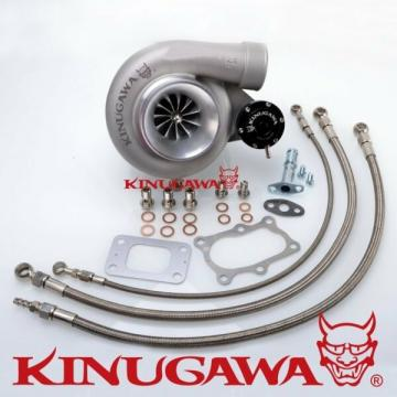 "Kinugawa Ball Bearing Turbocharger 4"" GT3582R Fit NISSAN RB20DET RB25DET Bolt On"