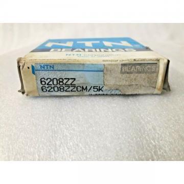 6208 ZZCM NTN Ball Bearing 40x80x18mm Quality Made in Japan