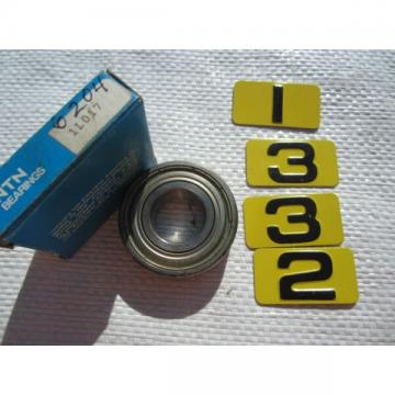 NTN 6204Z BEARING 1L017 – NOS