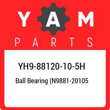 YH9-88120-10-5H Yamaha Ball bearing (n9881-20105 YH988120105H, New Genuine OEM P