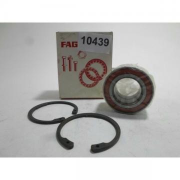 Set Bearing Wheel Wheel Bearing Set FAG VKBA663